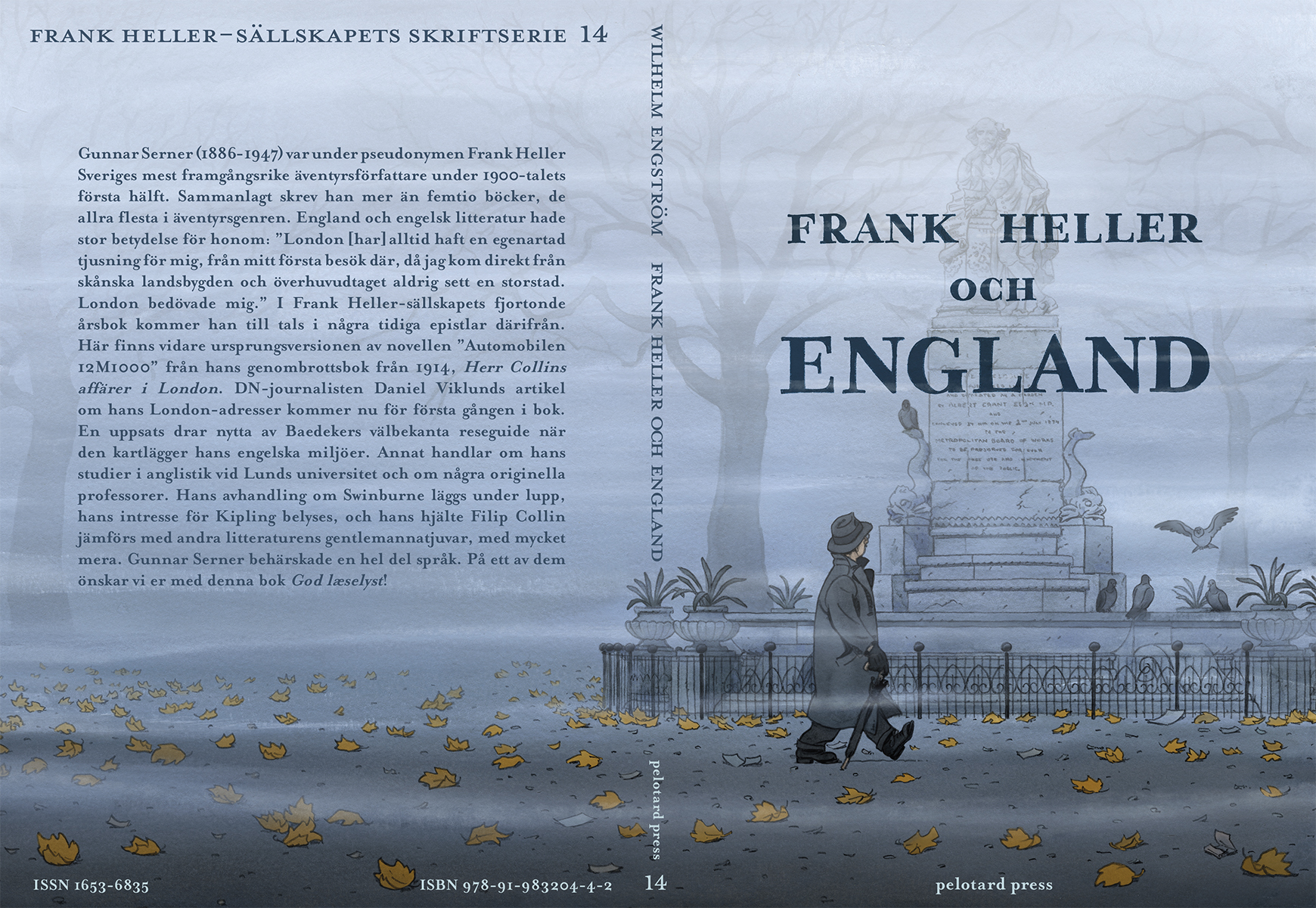 Cover for Frank Heller och England